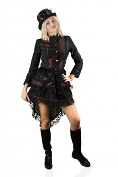 Gothic Kostüm Köln 36 Hochwertige Steampunk Jacke Fasching 54 Karneval Damen DE9IWH2