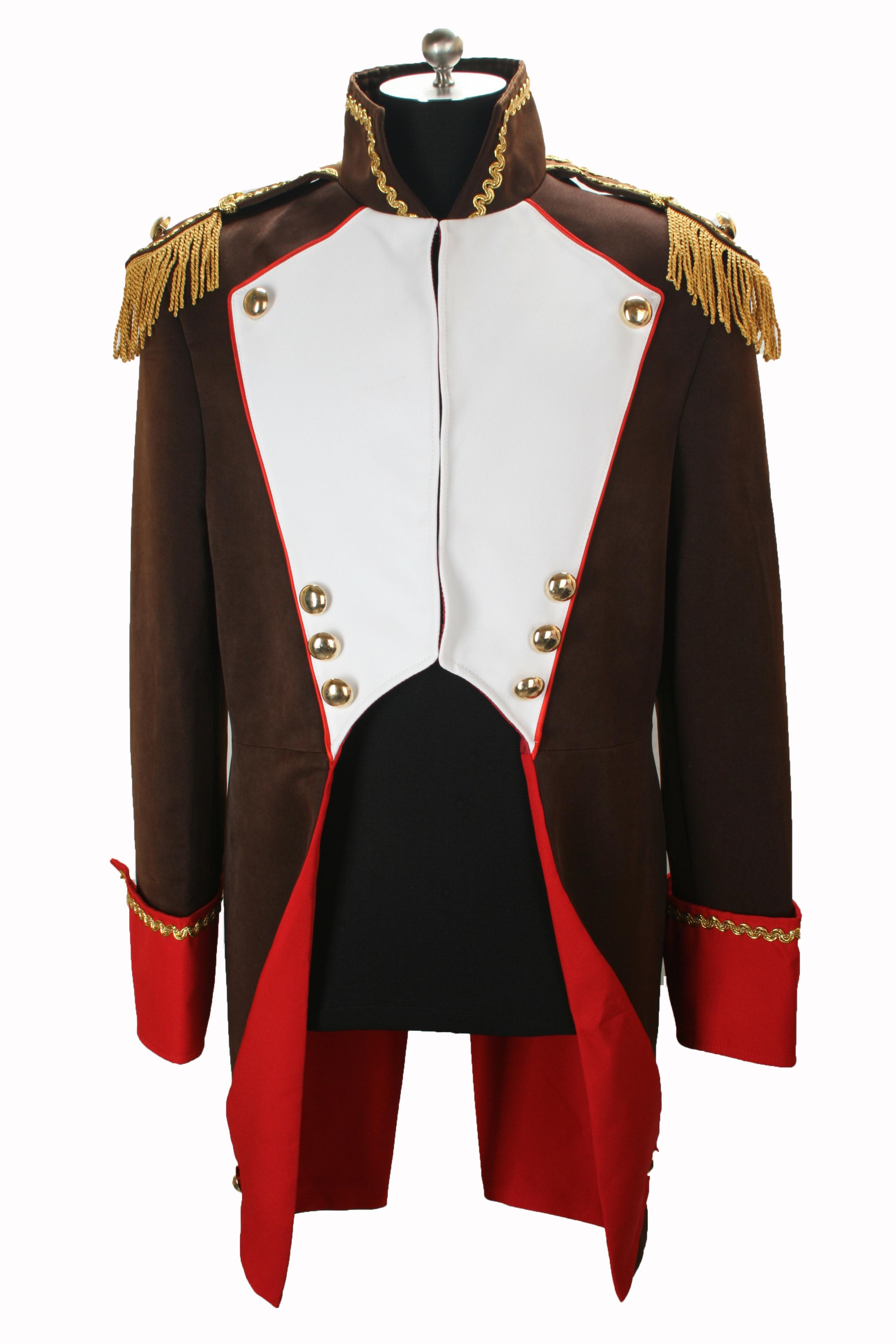 soldat napoleon jacke karnevalskost m uniform fasching gehrock. Black Bedroom Furniture Sets. Home Design Ideas