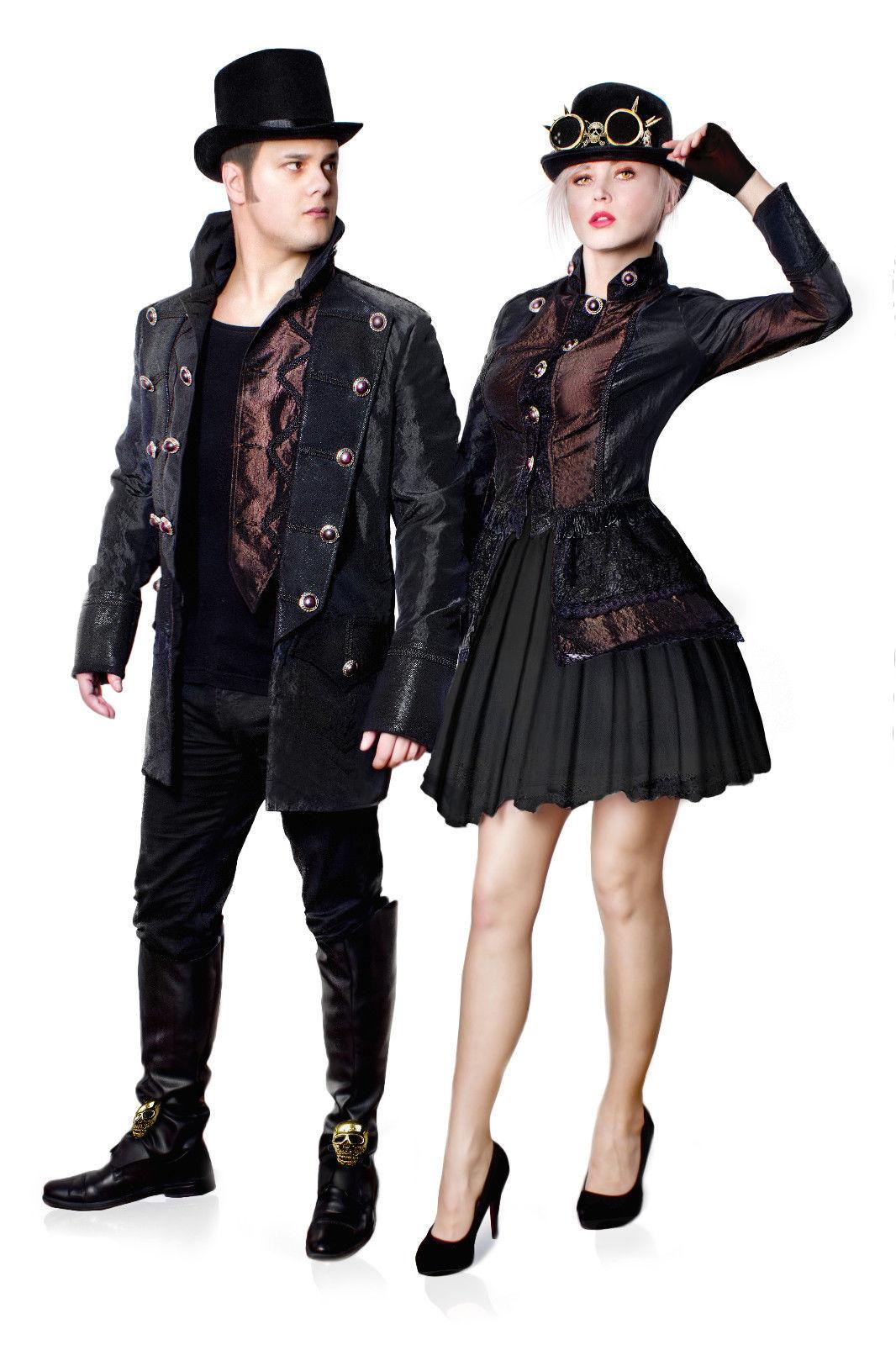steampunk jacke hochwertige gothic kost m k ln karneval. Black Bedroom Furniture Sets. Home Design Ideas