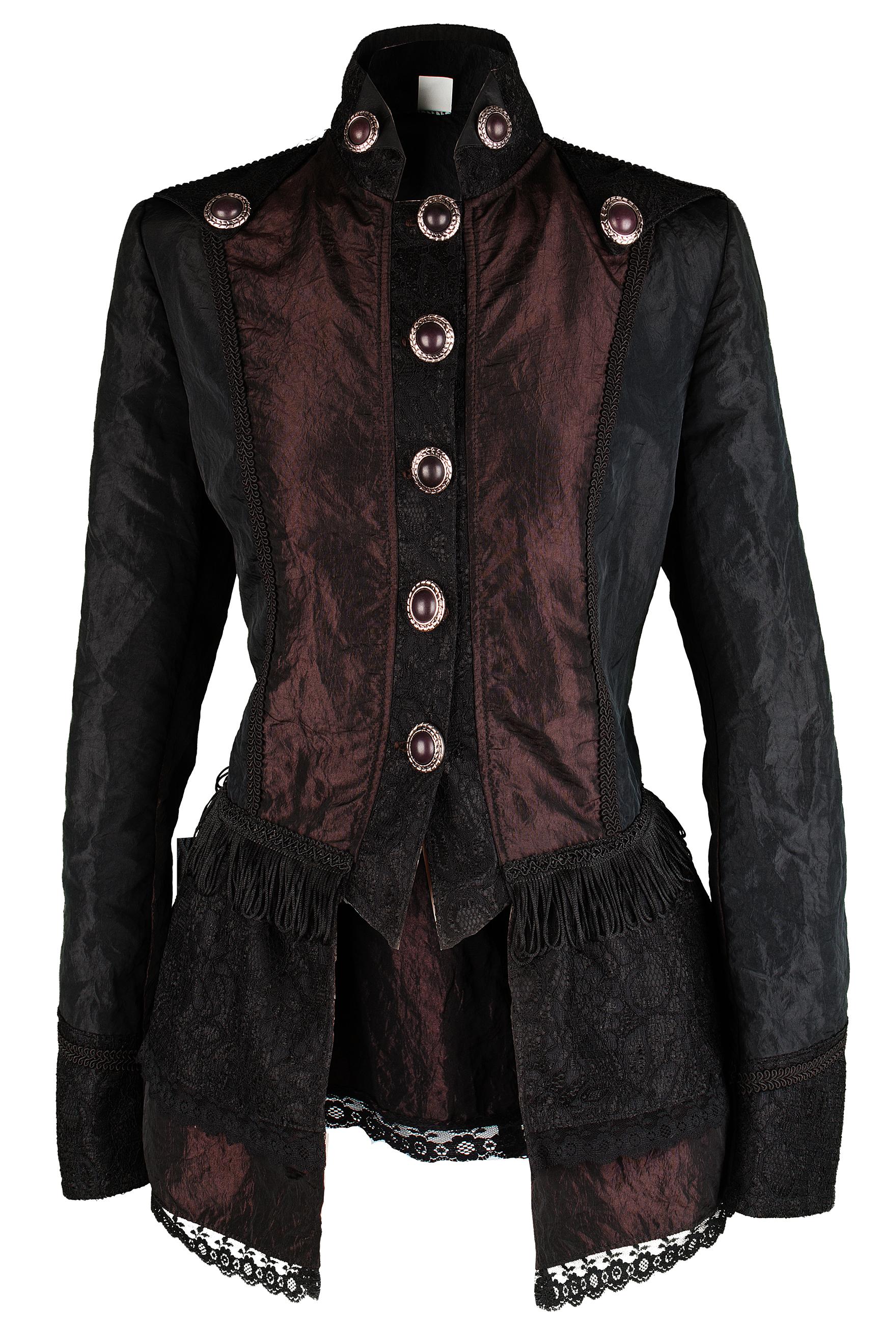 Hochwertige Steampunk Damen Jacke Gothic Kostüm Köln